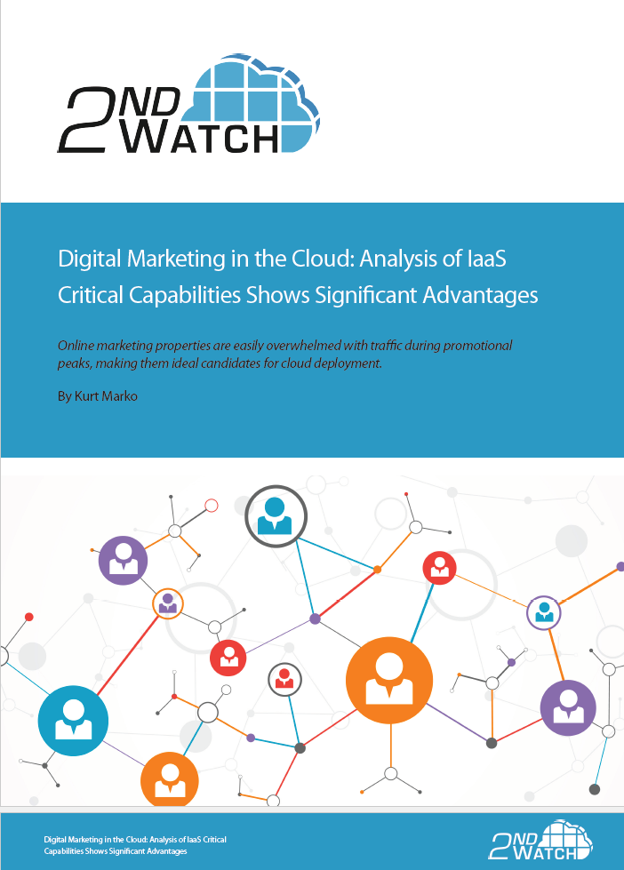 Digital Marketing in the Cloud